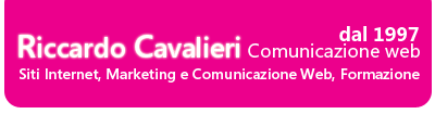 Riccardo Cavalieri – Marketing e Comunicazione Web Logo